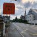 Strasse nach Merenschwand am Wochenende gesperrt.